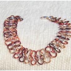 Autumn Fall Linked Bracelet