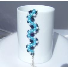 Wavy Sea Beaded Bracelet