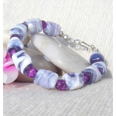 Purple Marbled Bracelet (matches item 5031)