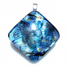 Blue Flower Diamond 3.5cm x 3.5cm