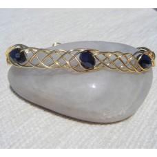 Celtic Style Gold Bracelet