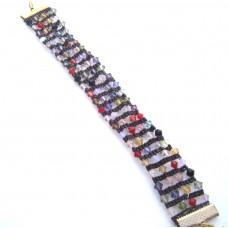 Swarovski Crystal Ladder Bracelet