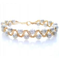 Gold Plated Zig Zag Bracelet