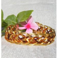 Autumn Colours Roman Style Wire Wrapped Bracelet