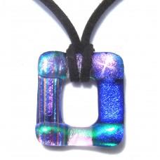 Rainbow Frame Dichroic Pendant