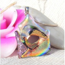 Autumn Fall Colours Dichroic Pendant